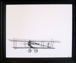 Kn-airplane_23x27_ink_on_mat_boart_200