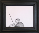 Kn-self-portrait_with_violin_24x28