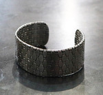Forged_recycled_stainless_steel_bracelet