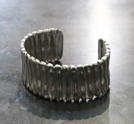 Recycled_stainless_steel_flex_tubing_bracelet
