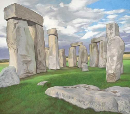 2008 Stonehenge Landscape Series by Steven John Poulos