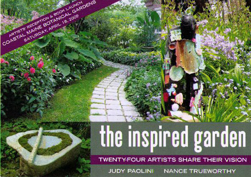 2009 Book cover for The Inspired Garden