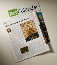 Art Calendar article