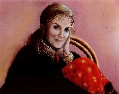 self-portrait pastel c. 1990