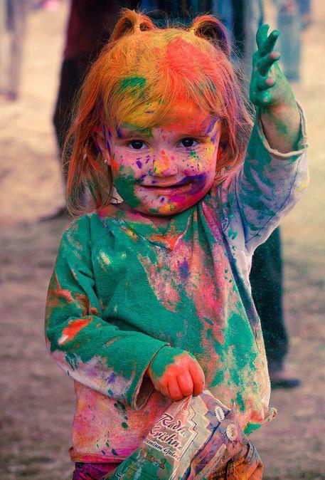 Little Girl in Full Color