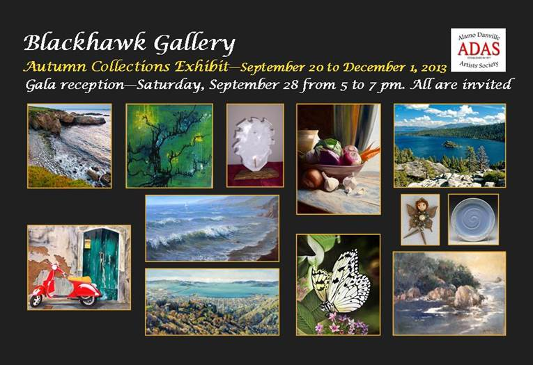 Blackhawk Gallery Autumn Collection postcard