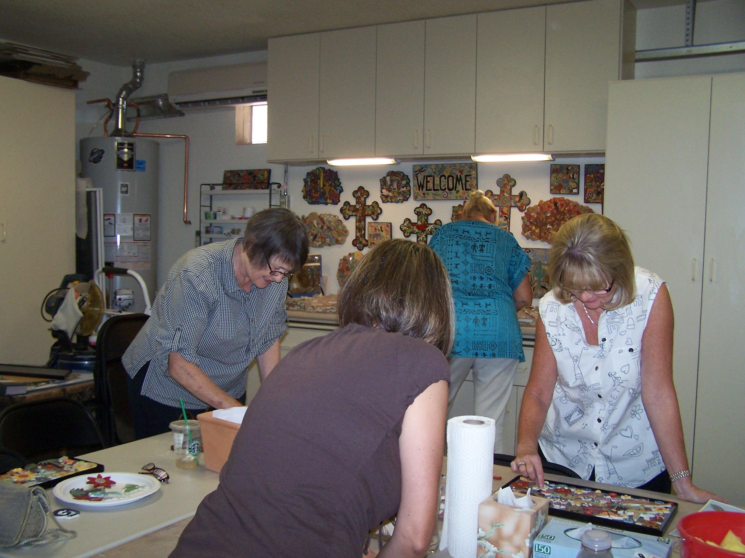 6/12/10 Class - Handmade Tile Studio