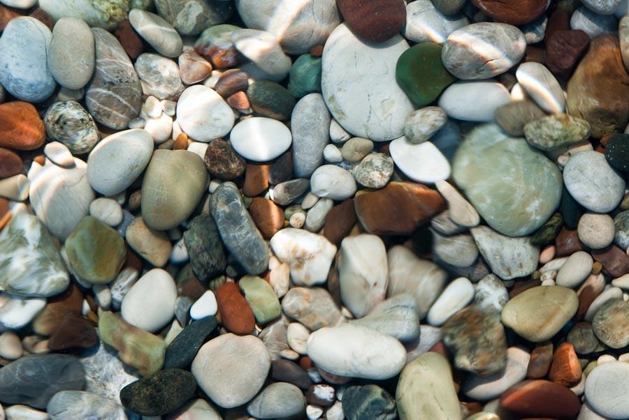 Olympos beach stones