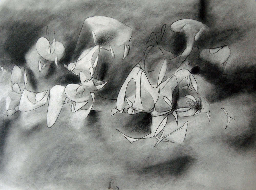 """Graphite Drawing of """"Hope in a Hopeless Place"""""""