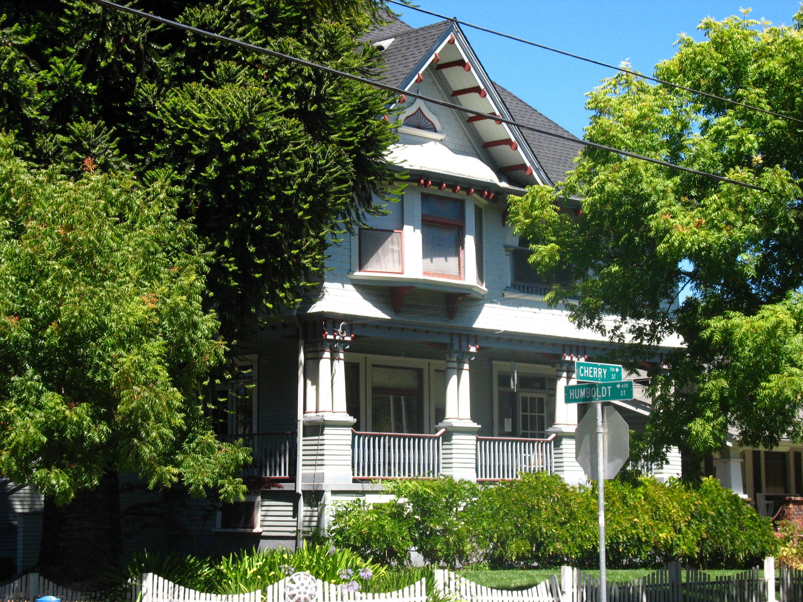 Belden House from Cherry Street