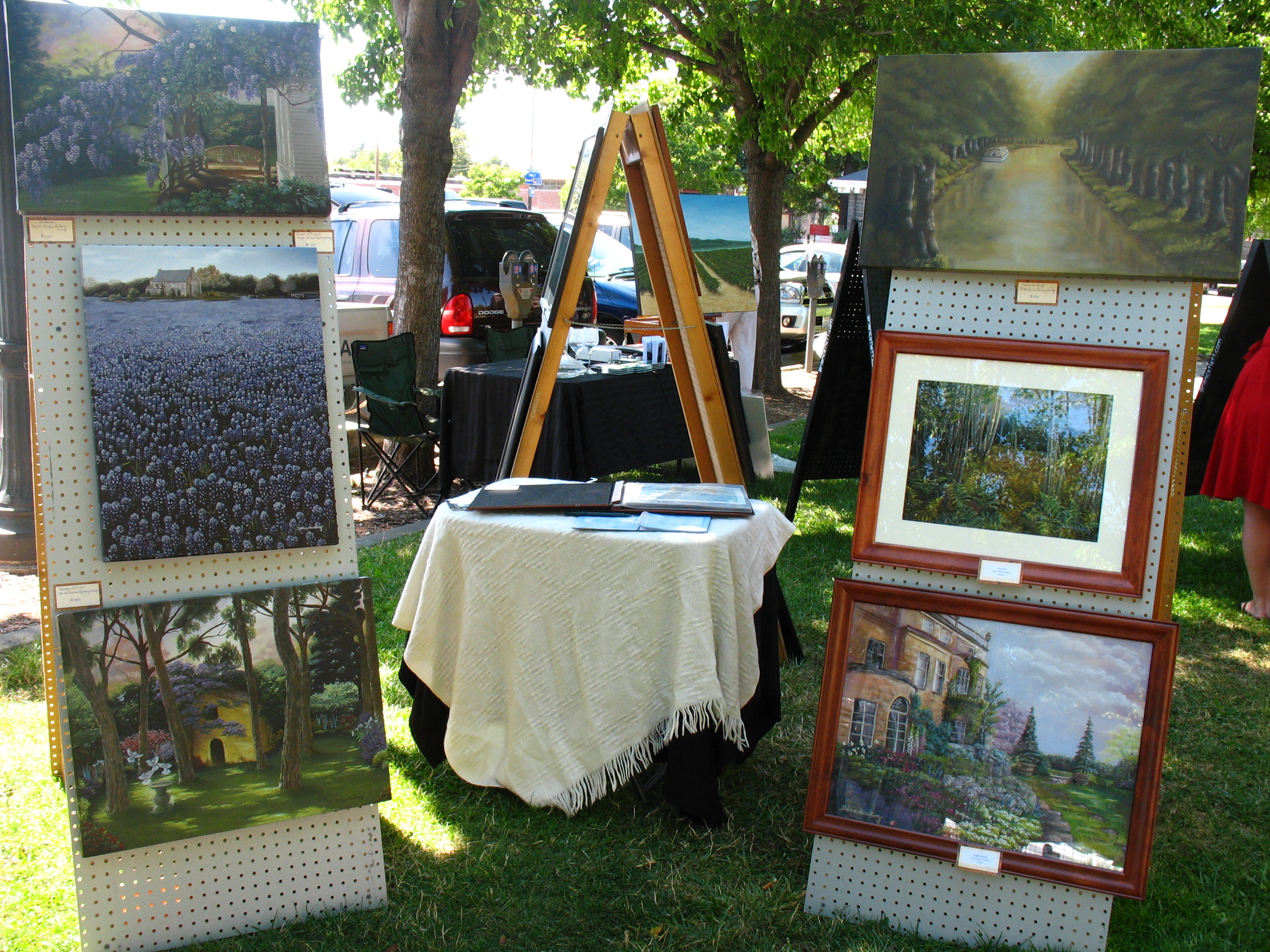 Art Show Railroad Square