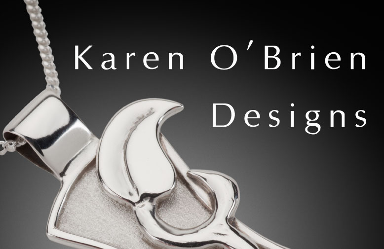 Karen O'Brien Designs Art Jewelry Banner