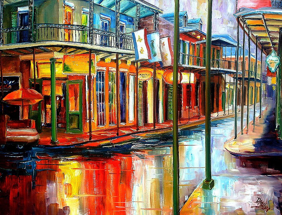 New orleans art by diane millsap New orleans paint colors