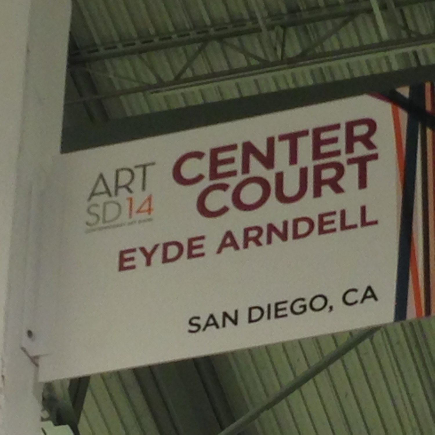My Booth at Art San Diego 2014