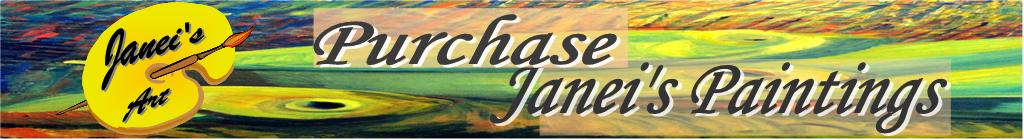 Purchase Paintings Web Page Masthead