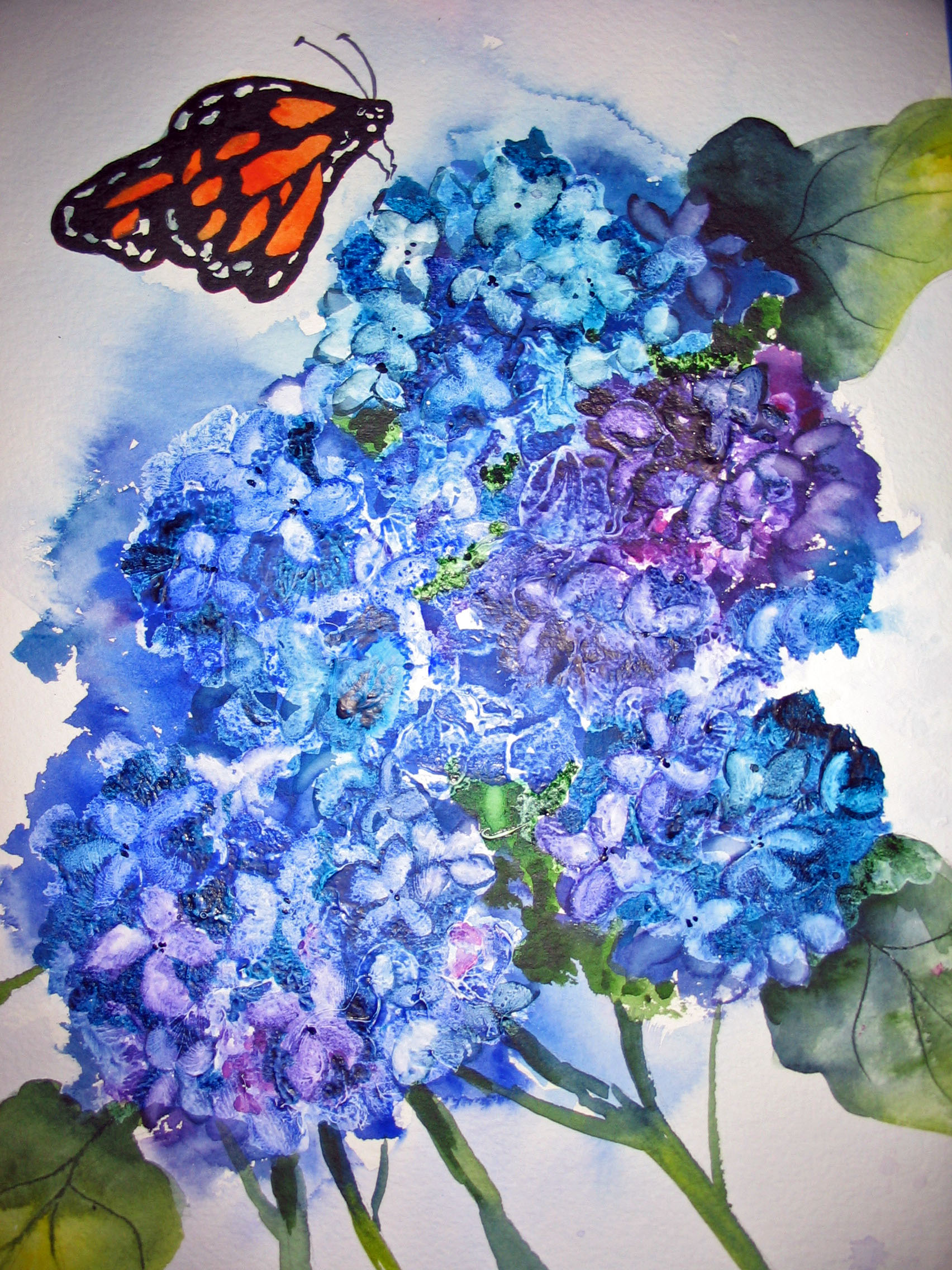 Butterfly Blue
