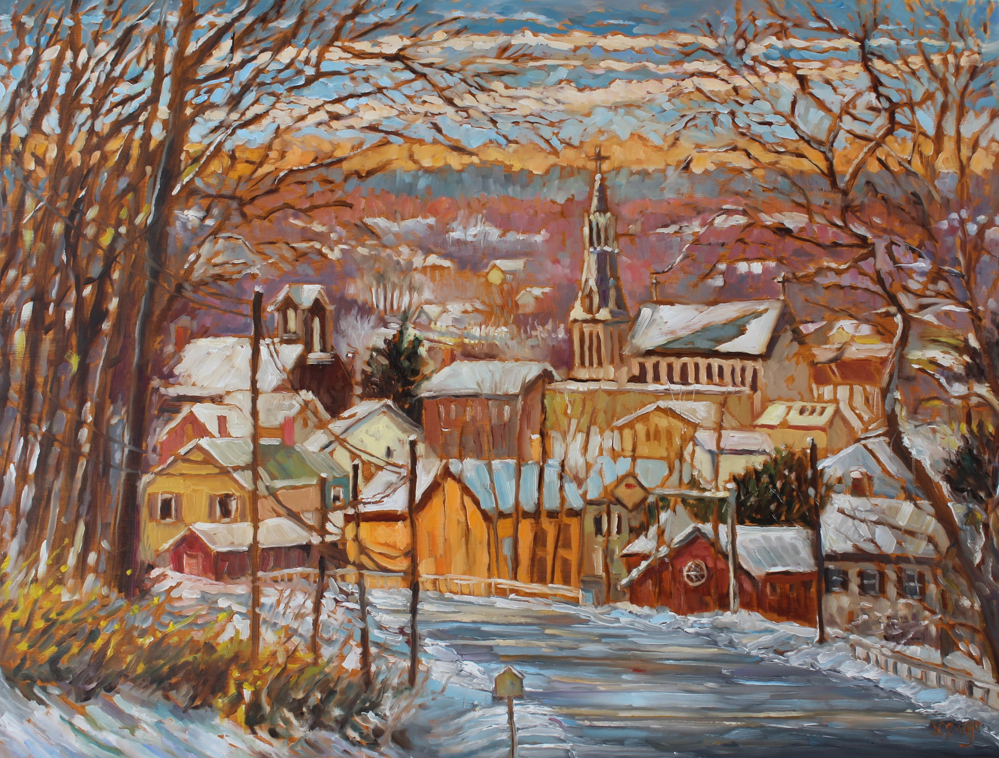 Lambertville Overlook 2 - Winter