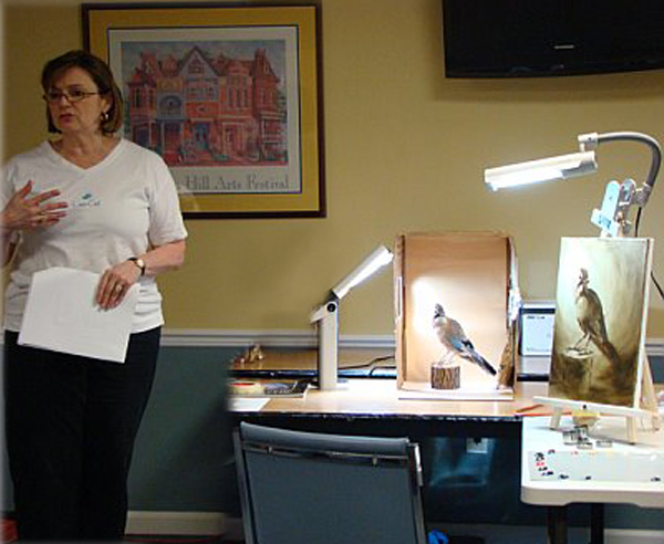 Workshop, Penfield Art Association Legacy Show, 2008