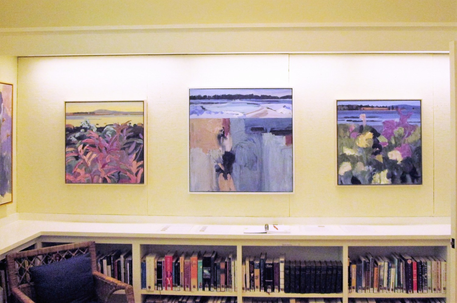 Painting Show At Friend Memorial Library, Brooklin, ME | June ...
