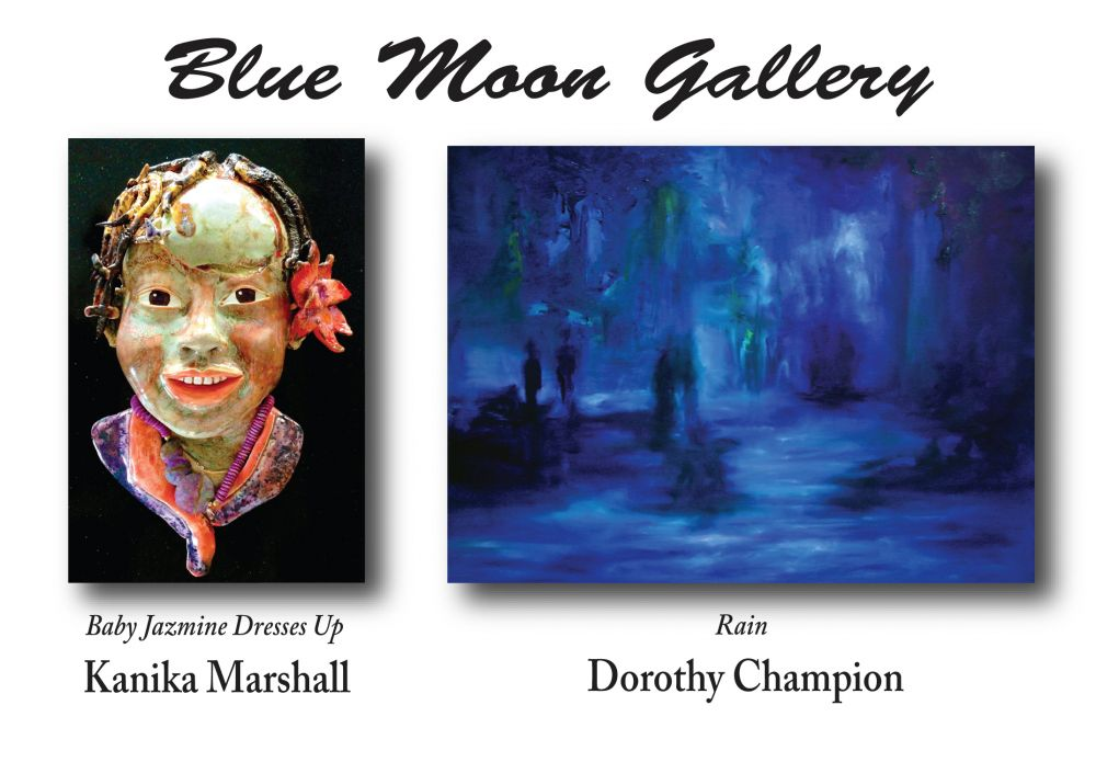 Blue Moon Gallery May 2013 Postcard