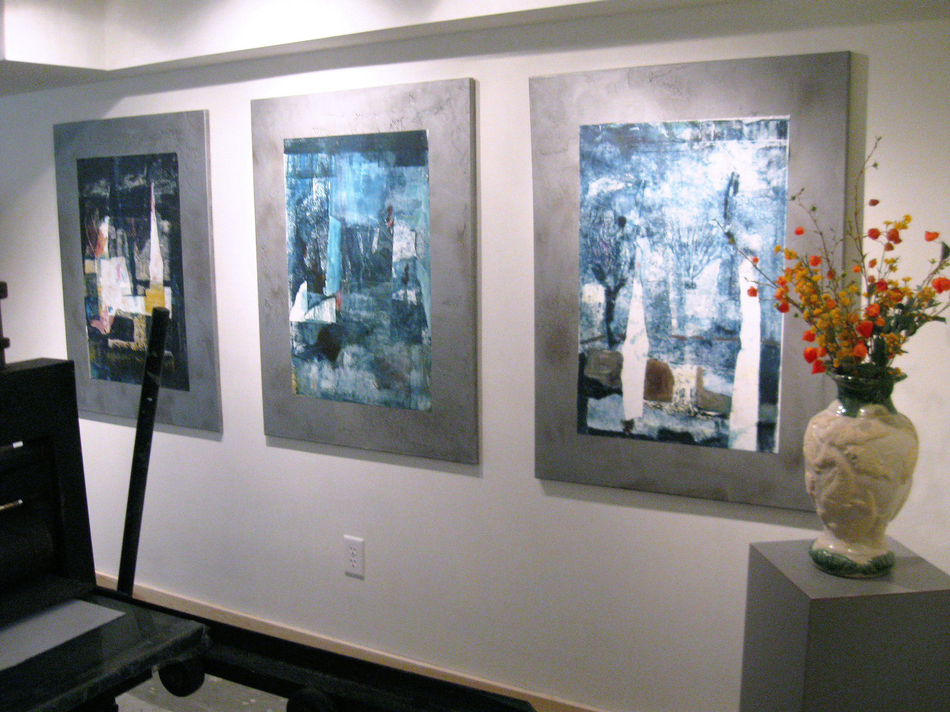 gallery at Slough Road, Icefield Paintings