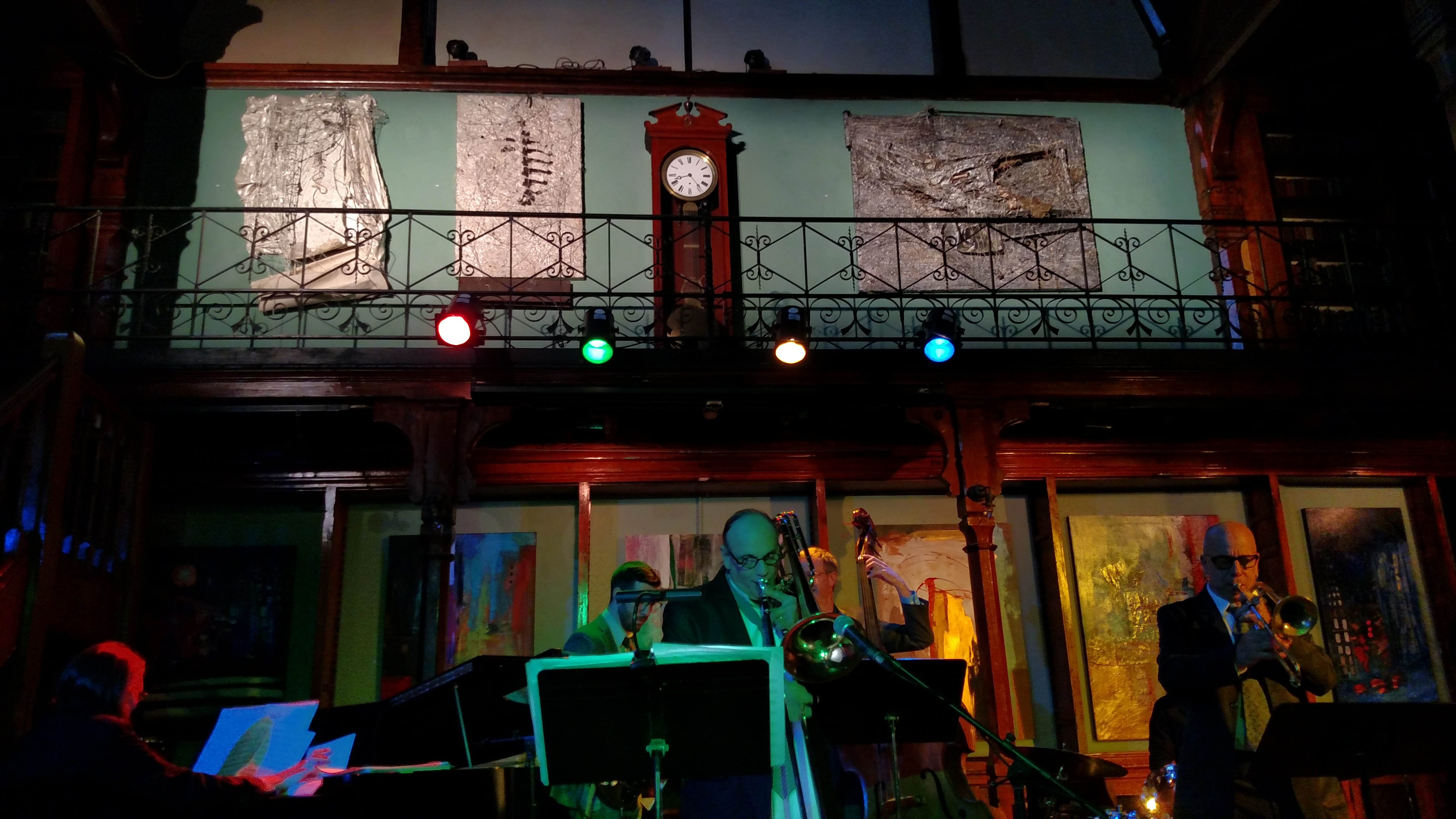Metamorphosis Final Night, Jazz Concert, Howland Cultural Center June 2017, Kathryn Hart