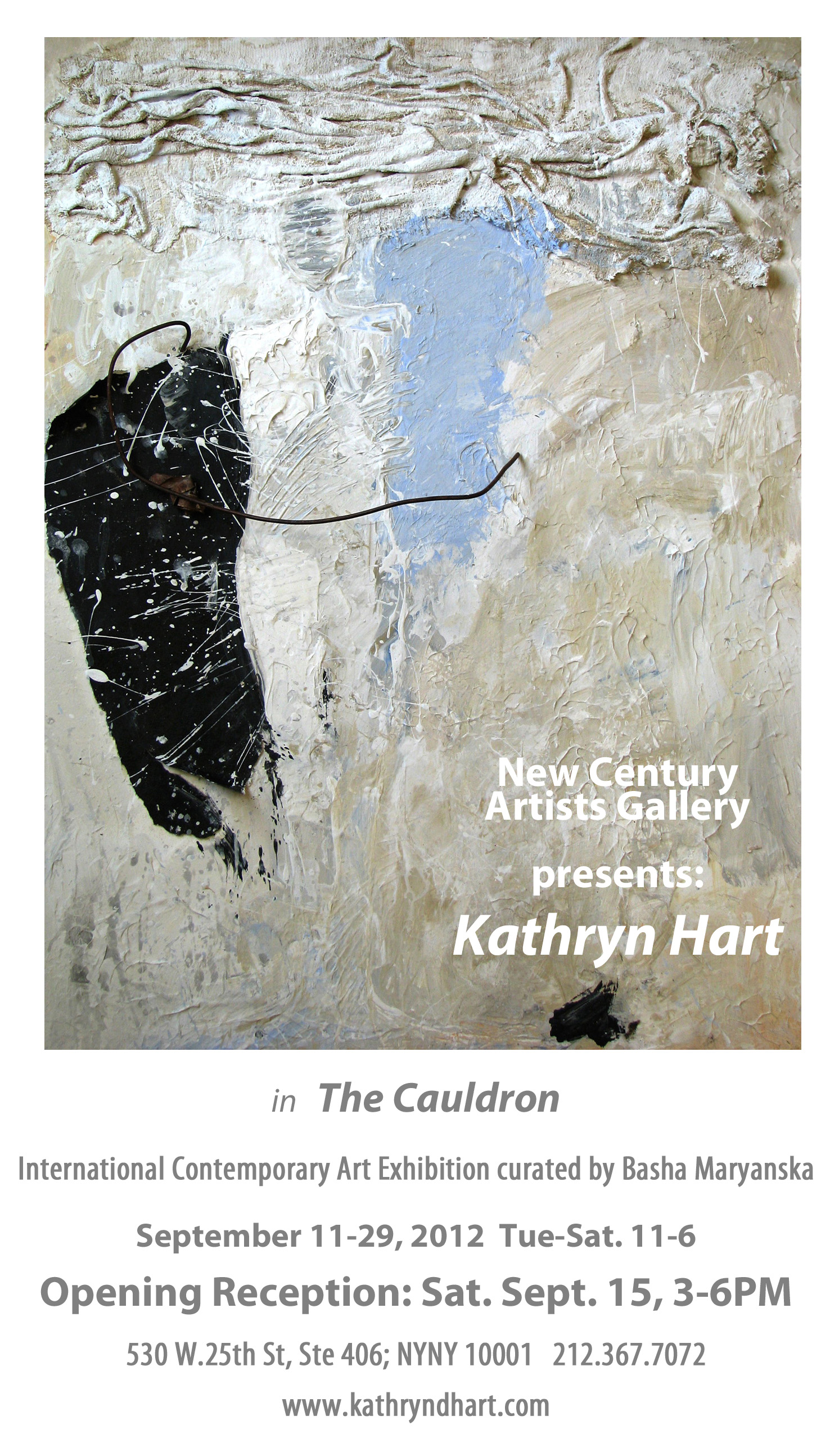 Kathryn Hart, The Cauldron, NYNY Sept 2012