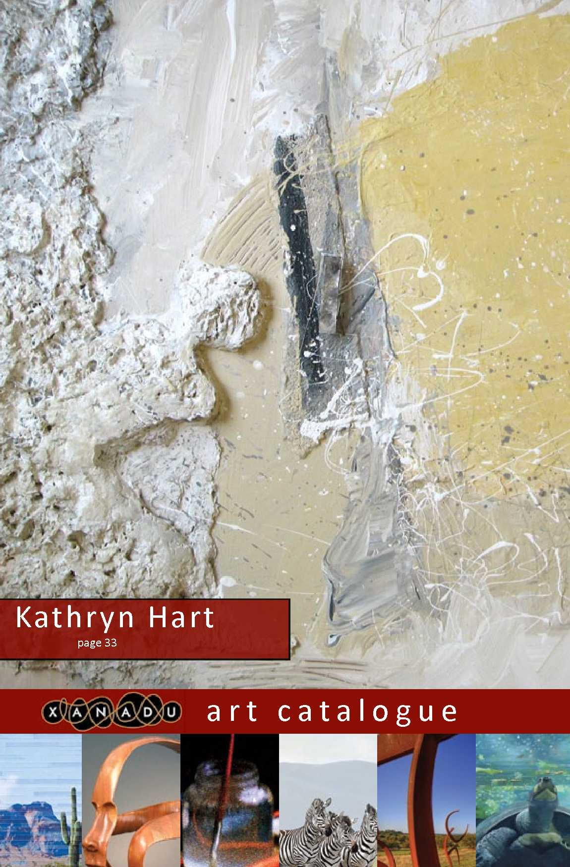 Kathryn Hart, Xanadu March 2012 Catalogue
