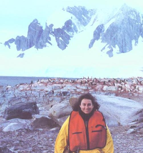 Lisa Goren in Antarctica