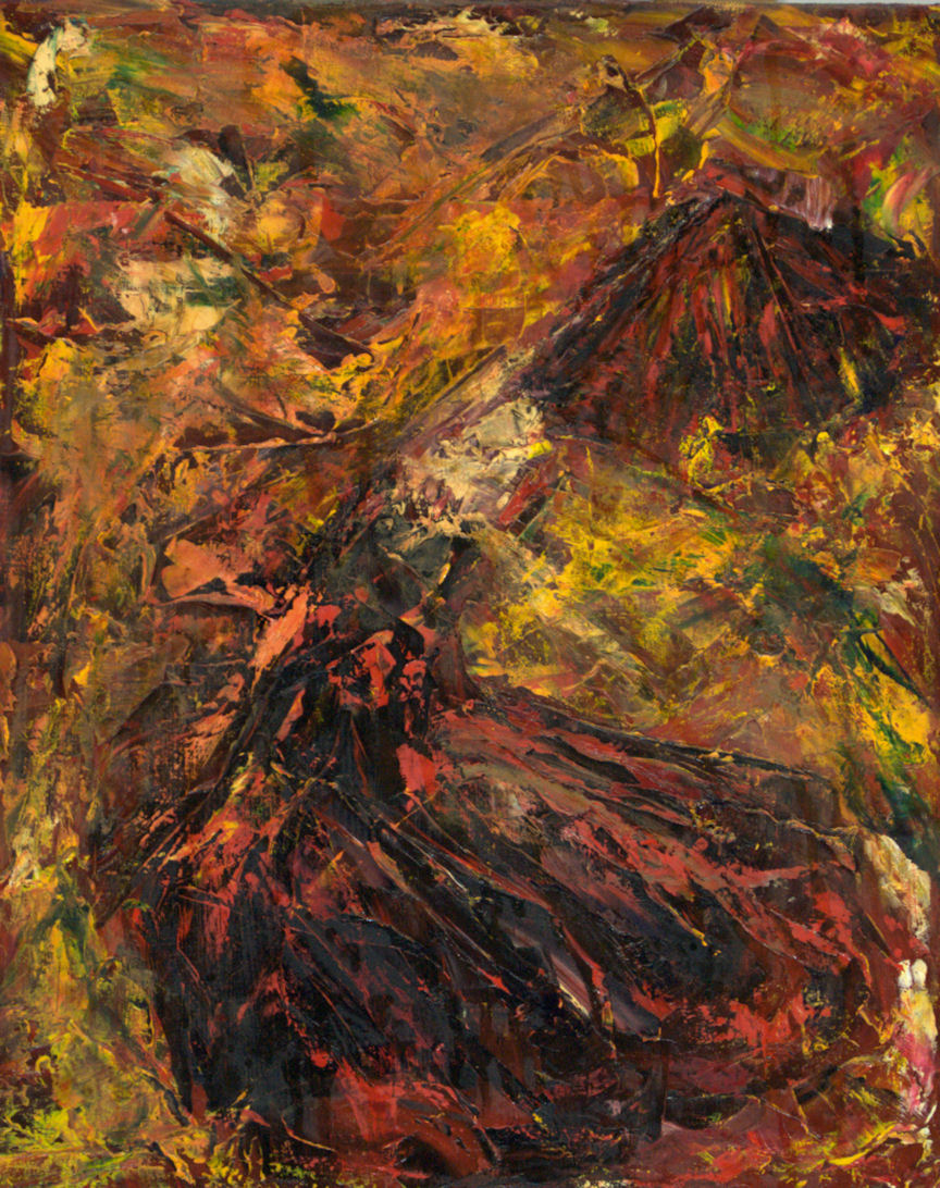 Flamenco Dancer - Abstract