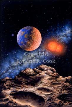Binary Red Dwarf Star System