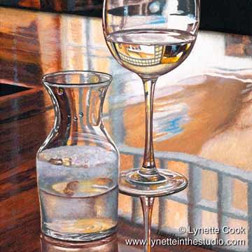 Reflecting on Wine