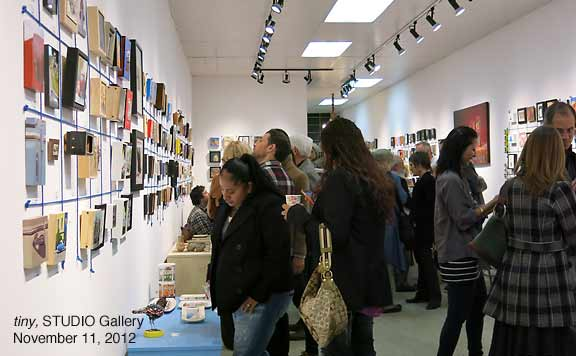 """tiny"" Exhibit, STUDIO Gallery"