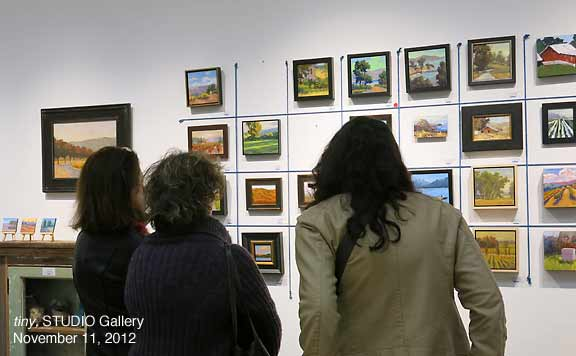 """""""tiny"""" Exhibit, STUDIO Gallery"""