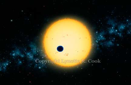 Transit of HD 209458