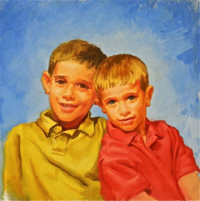 "Evolution of ""Brother's"" portrait"