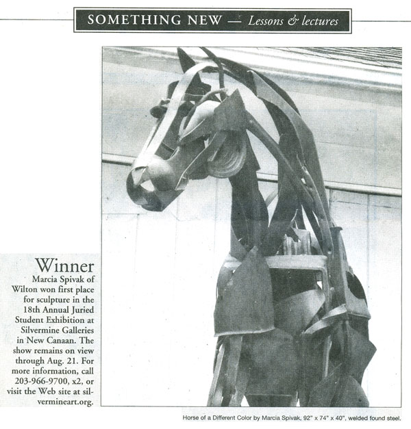 Wilton Bulletin - Something New