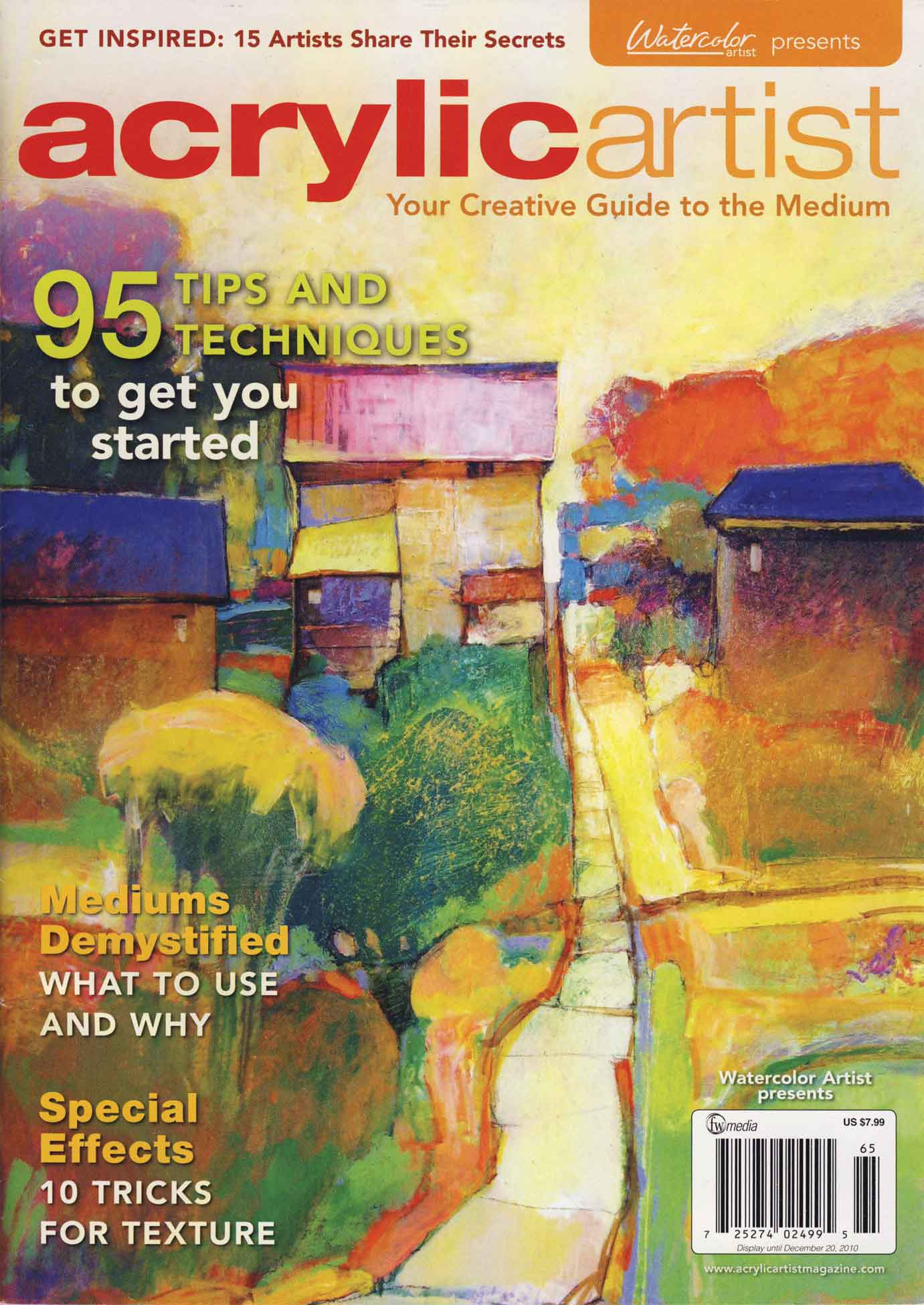 Renew watercolor artist magazine - Mark Gould Dancing Crow Studio