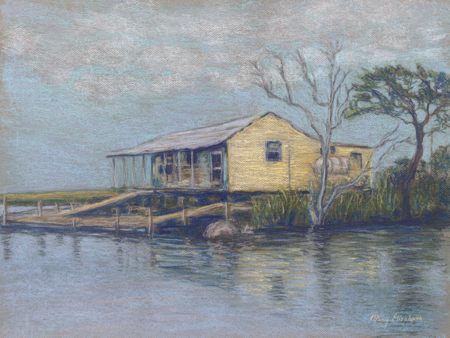 Fishing Camp on Grand Bayou