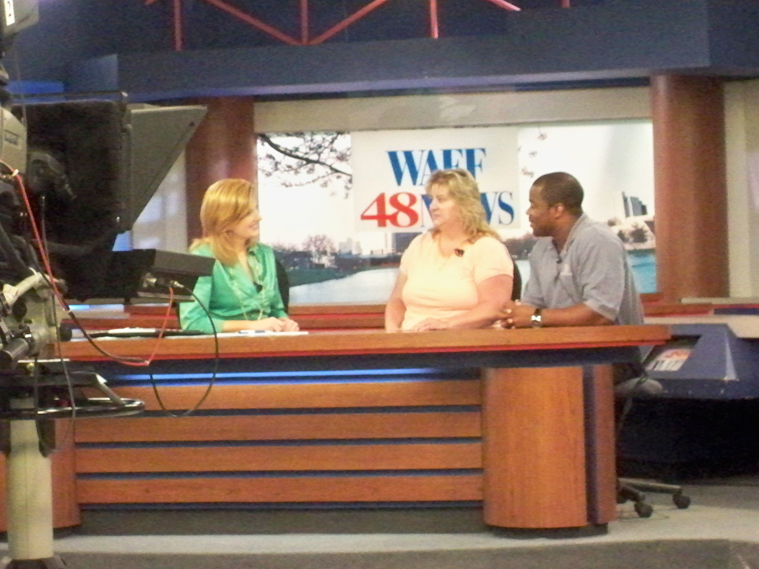 WAFF Interview Lee Marshall, Mellissa Meeks and Travis Evans