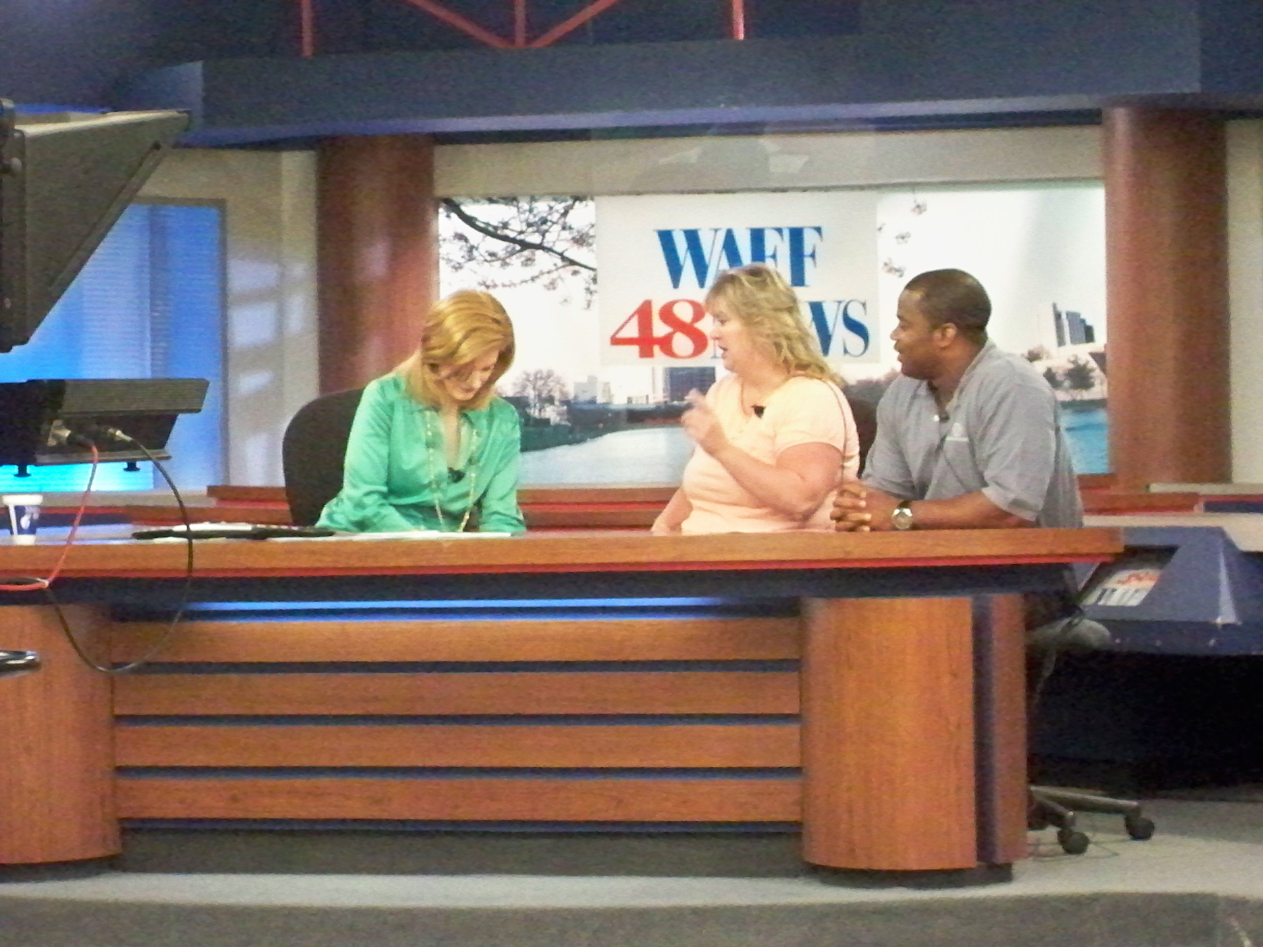 WAFF 48 News Interview for Artisan Cove and MPCA