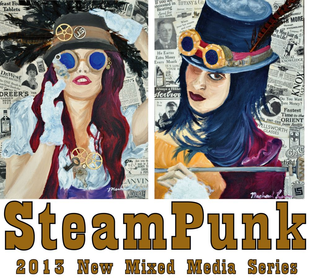 Steam Punk Paintings