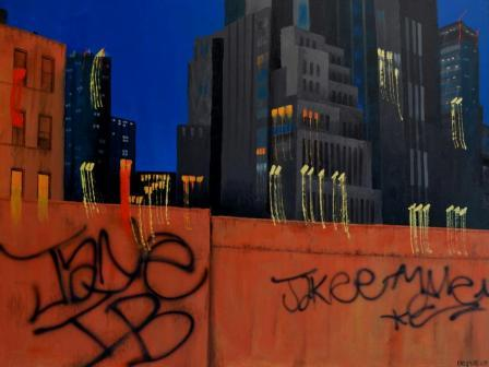 NYC Series #8 Graffiti