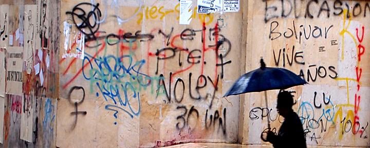 Graffiti, Bogota Colombia 2011