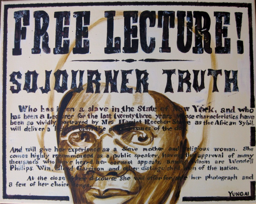 aint i a woman sojourner truth Sojourner truth's delivers ain't i a woman speech she delivered at the ohio women's right convention on this day in 1851.