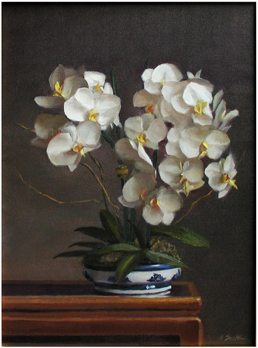 Orchid Painting Artist