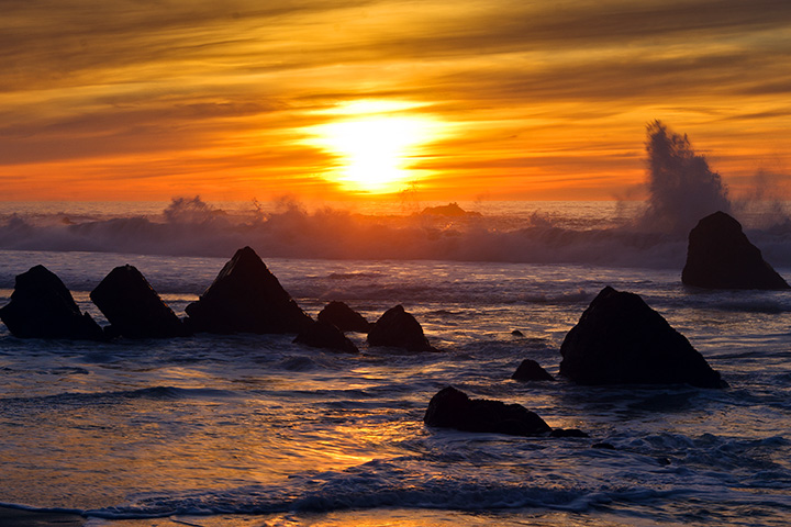 Big Sur Sunset Big Sur Sunset