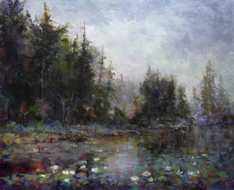 Marilyn Fairman Oil Painting Adirondack Summer