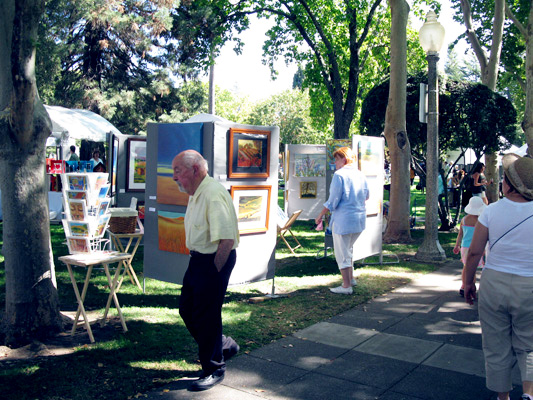 Art Festival in Sonoma Plaza
