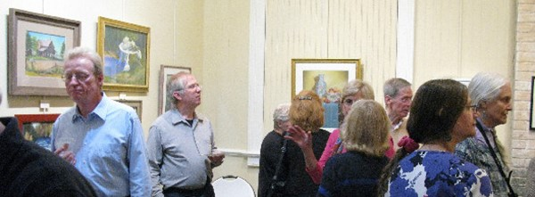 2015 PSNJ Signature and Board Members Exhibition - Reception